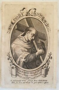 SAN GIOVANNI DELLA CROCE BARILATI JUAN DE LA CRUZ JOHN OF THE CROSS 18 SECOLO