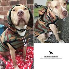 LARGE DOG ARMY / CAMO JUMPER: Staffy Jumper / Pitbull Jumper / BullBreed jumpers