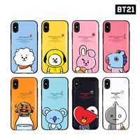 BTS BT21 Official Authentic Goods Hang Out Multi Card Case for iPhone / Galaxy