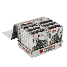 Figure Plastic Aircraft Model 4D Puzzle 8pc Air Fighter Aero Plane Kits Toy Gift