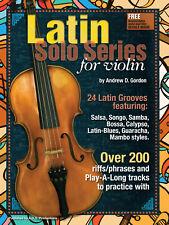 Latin Solo Series for Violin Book/audio files