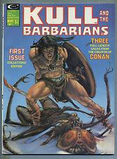 Kull and the Barbarians #1 1975 Neal Adams Kane Severin Wood Andru Magazine m