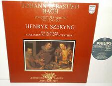 9502 016 JS Bach Violin Concertos Henryk Szeryng Collegium Musicum Winterthur