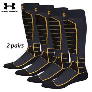 UA Socks: 1-PAIR Mtn Perf. OTC (L) Anthra.