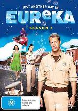 Eureka: Season 3 = NEW DVD R4 5 DISC SET