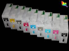 80ml CISS nachfüllbare Kartuschen 9 kompatible zu Epson Pro 3800 3850 3800C 3880