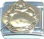 Italian Charm Bronze Buddha Buddhism Religious Believe
