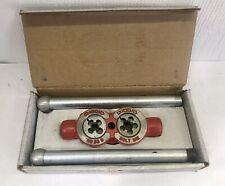 New Nos Vintage Ridgid Model No 33 B 3 Way Bolt Threader 38 12 58
