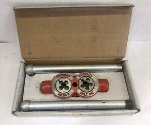 """NEW NOS Vintage Ridgid Model No. 33-B 3-Way Bolt Threader 3/8"""", 1/2"""", 5/8"""""""
