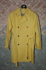 Gianni Versace True Vintage Trench-coat, L, EU 50/52, NOS, Never Worn, Yellow