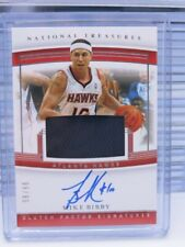 2019-20 National Treasures Mike Bibby Game Used Jersey Auto Autograph #96/99 D78