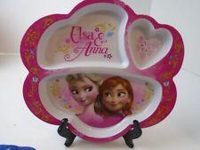 Disney FROZEN ELSA & ANNA ZAK Divided Plate pink Ages 3+