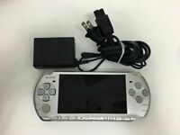 Sony Playstation Portable PSP-3000 MYSTIC SILVER SONY PSP Console Japan F/S