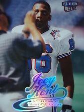 NFL 188 Joey Kent Tennessee Titans Fleer Ultra 1999