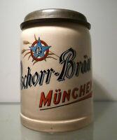 Bierkrug 0,5 Liter, Brauereikrug Pschorr-Bräu München um 1910
