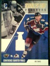 JOE SAKIC   AUTHENTIC PIECE OF A GAME-USED JERSEY /90  SP