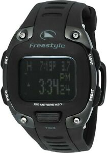 Freestyle USA by Shark Men's The Stealth Tide 3.0 Polyurethane Strap Sport Watch