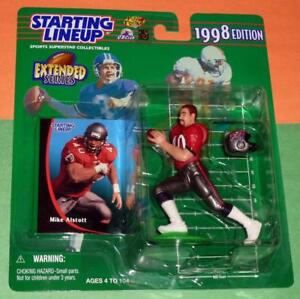 1998 ext MIKE ALSTOTT Tampa Bay Buccaneers NM+ Rookie *FREE_s/h* Starting Lineup