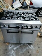 More details for falcon dominator 6 burner oven commercial cooker heavy duty natural gas warranty