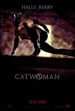 CATWOMAN MOVIE POSTER 1 Sided ORIGINAL Advance 27x40 HALLE BERRY