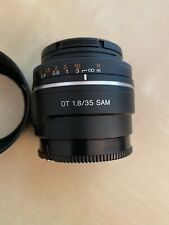 Sony SAL 35mm f/1.8 SAM Lens
