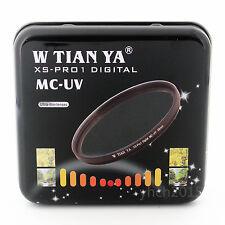 W-TIANYA XS-Pro 1D 77mm MC UV Filter,18 Layers of Coating Camera MC UV Lenses