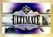 2017/18 Upper Deck Ultimate Collection Hockey Hobby Box FREE PRIORITY SHIPPING!!