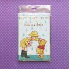 NEW Disney Stationery File Set: Winnie the Pooh - Party & Spring Rain JAPAN