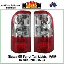 Tail Lights - PAIR suits Nissan GU Y61 Patrol Wagon Driver Passenger Side RH LH