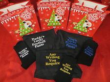 Personalised Boxer Shorts and Socks Set - Christmas - Football - Gift Bag