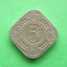 1913 Netherlands 5 Cents SNo56297