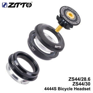 """ZTTO 4444S Bicycle Headset 44mm 1-1/8"""" 28.6mm Straight Tube Fork Semi-integrated"""