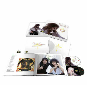 Brian May Back To The Light Collector´s Edition Box 2CDs white vinyl (Queen)