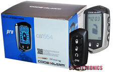 Code Alarm CA1554 Car Alarm/Car Security System With Keyless Entry 2-way LCD NEW