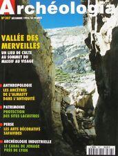 Archéologia  n°307 - 1994  - Les arts décoratifs Safavides - Canal de Jonage