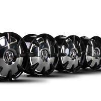 VW 18 Zoll Felgen Bus Caravelle Multivan T5 T6 T6.1 DISC Schwarz Alufelgen NEU