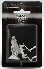 Dark Sword DSM-7481 Female Dark Elf Warrior (Dual Wield) Fighter Ranger Rogue