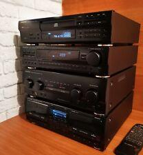 Impianto stereo KENWOOD A-56 perla nera Hi-Fi cd player amplificatore tuner tape