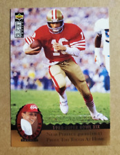 1995 Collector's Choice JOE MONTANA TRILOGY 1985 Super Bowl #MT7 49ers Nice 🔥