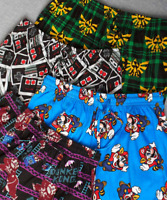 Mens Lounge Pants Pajama Bottoms Zelda Mario Donkey Kong Gaming Boys Kids Gifts