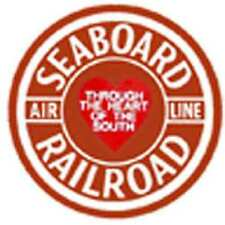 SEABOARD BOX CAR ADHESIVE STICKER for American Flyer S Gauge Trains