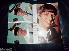 """THE BEATLES RINGO STARR STORY OF """"A RING A DING STAR"""" POP PICS SUPER GENUINE 196"""