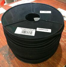 ELASTIC BUNGEE ROPE SHOCK CORD TIE DOWN BLACK 6mm COIL 100 mtr FREE P&P COTESI
