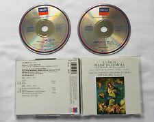 Sir G.SOLTI / BACH Mass in B minor GERMANY 2CD 1st press DECCA 430 353-2 (1991)