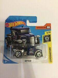 Hot Wheels Gotta Go, Experimotors 2020 Short Card 6/10 Brand New
