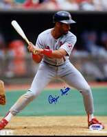 Ozzie Smith Psa/dna Signed Certified 8x10 Photo Authentic Autograph