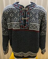 New Volund New Wool Norwegian Pullover Sweater -  Unisex Size XL