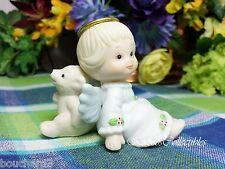 Enesco Morehead Angel with Polar Bear Figurine