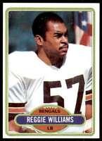 1980 Topps Reggie Williams Cincinnati Bengals #187