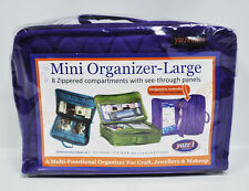 Yazzii Mini Craft Organizer Large Purple